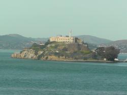 6585219 alcatraz from the ferry alcatraz island