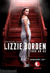 Christina ricci channels murderer in lizzie borden took an ax poster